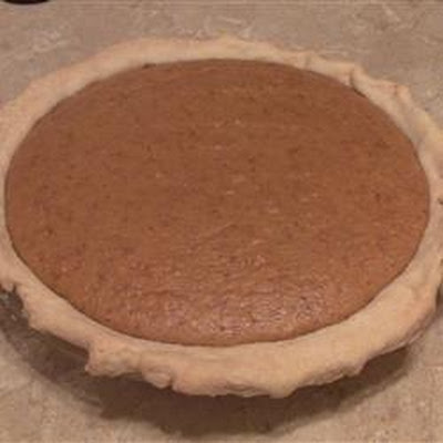 REAL Homemade Pumpkin Pie