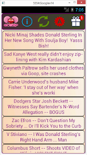 The Gossip App - screenshot