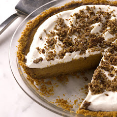 Bobby Flay's Pumpkin Pie with Cinnamon Crunch and Bourbon-Maple Whipped Cream