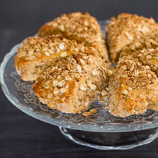 Banana Buzz Scones