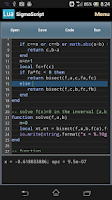 Screenshot of SigmaScript