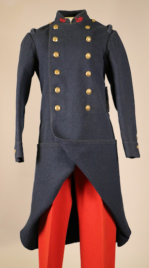 French enlisted man's greatcoat and trousers