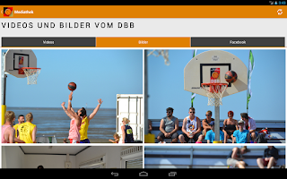 Screenshot of DBB