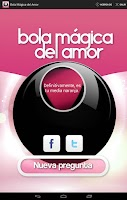 Screenshot of Bola Mágica del Amor