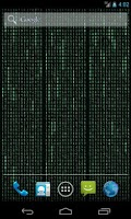 Screenshot of Matrix Stream Wallpaper Free