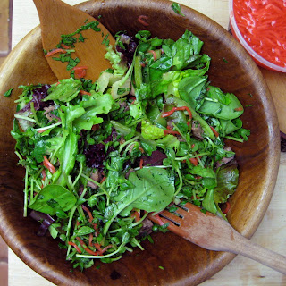 Leftover Grilled Steak Salad With Ponzu Dressing