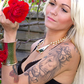 Savanna by Ingrid Anderson-Riley - People Body Art/Tattoos