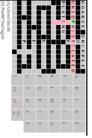 German Eng Crossword Lite