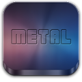 Metal (APEX/NOVA/GO/ADW THEME) APK baixar