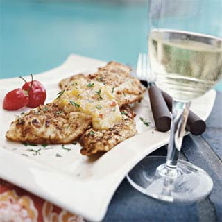 Pecan Crusted Trout With Sauce Recipes
