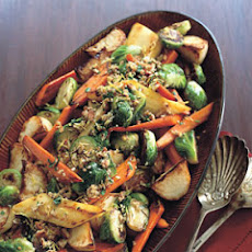Roasted Vegetables with Pecan Gremolata