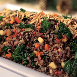 Winter Wild Rice Salad