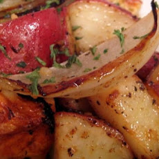 Roasted Onions and Potatoes