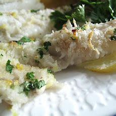 Lemon & Herb Crusted Cod