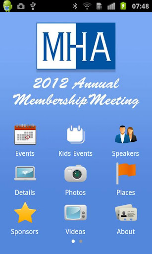 MHA Annual Meeting 2012
