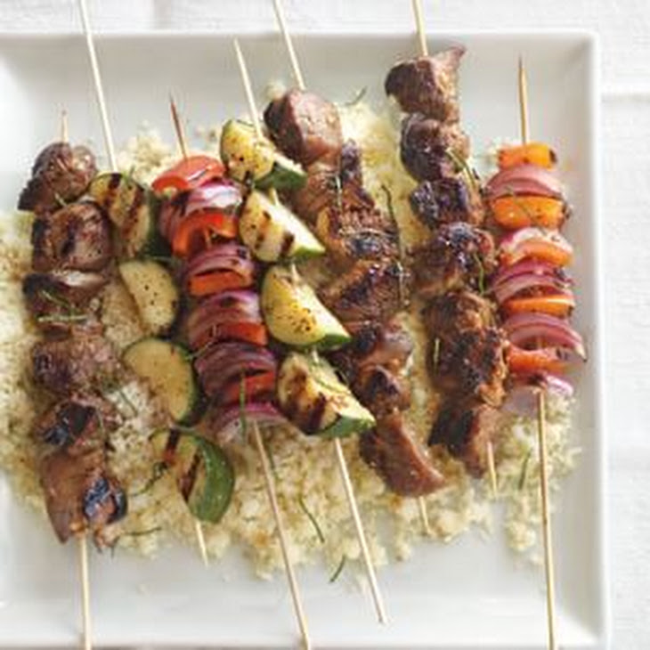 Lamb Kabobs With Pomegranate Glaze Recipes — Dishmaps
