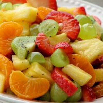 Tangy Poppy Seed Fruit Salad