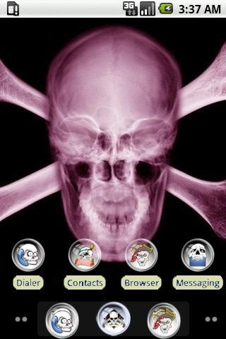White Skull [SQTheme] for ADW