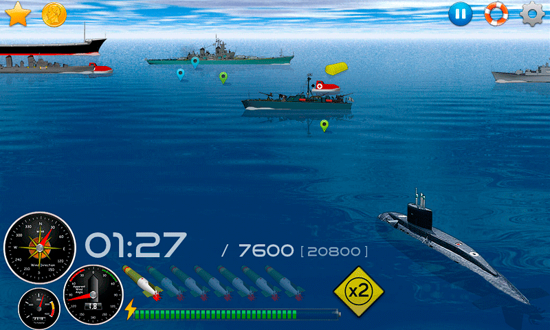 Silent Submarine Career Screenshot 11