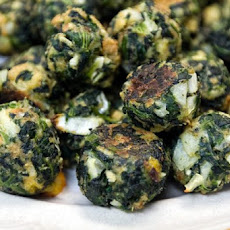Spinach and Mushroom Stuffing Balls