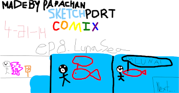 Sketchport Comix: Episode 8 Luna Sea