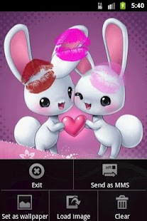 Love kiss - screenshot