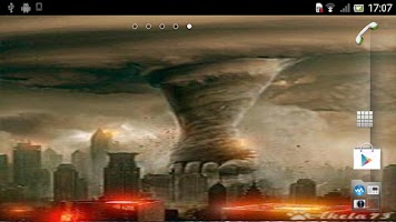 Screenshot of Tornado Live Wallpaper