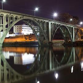 Memorial Bridge by Brent Butterworth - Buildings & Architecture Bridges & Suspended Structures