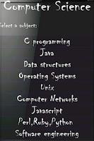 Screenshot of Computer Science