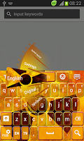Screenshot of Radioactive Keyboard