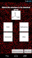 Screenshot of Organic Chemistry Nomenclature