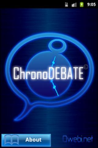 ChronoDEBATE
