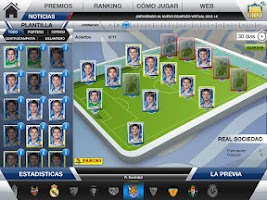 Screenshot of Equipazo Virtual 2013-14