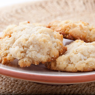 Chewy Coconut Almond Cookie