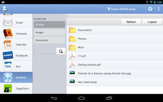Screenshot of PrintHand Mobile Print