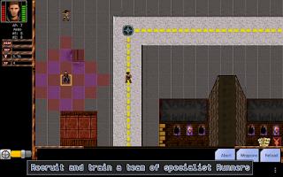 Screenshot of Cyber Knights RPG