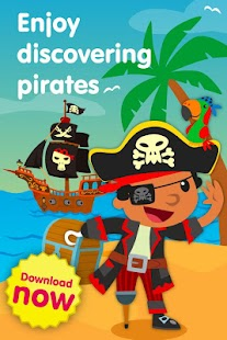 Pirates games for little kids - screenshot