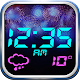 Fireworks Weather Clock Widget
