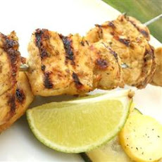 Big M's Barbadian Chicken Skewers