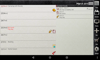 Screenshot of Jorte Calendar & Organizer