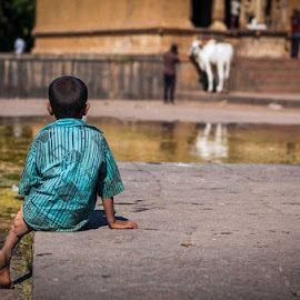 Solitude by Abhilash Safai - Babies & Children Children Candids