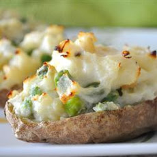 Garden Stuffed Baked Potatoes