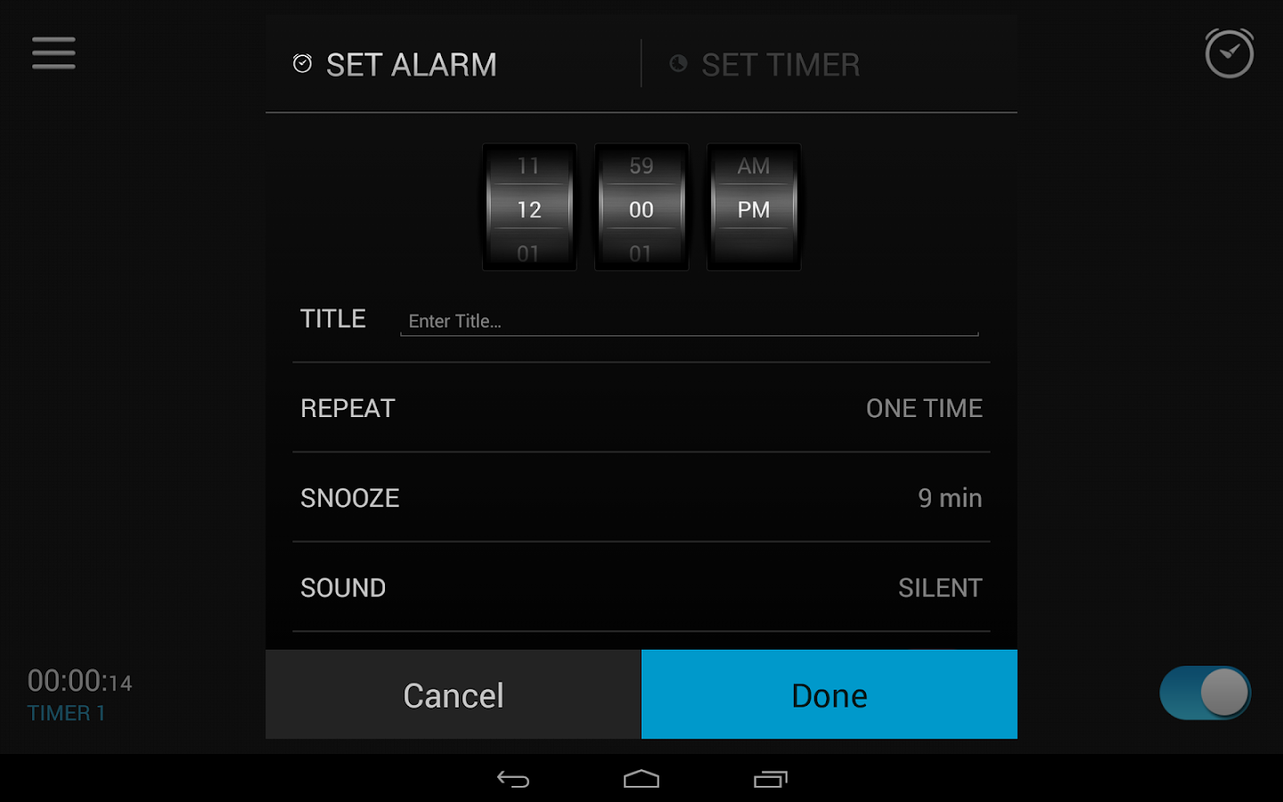 Alarm Clock Screenshot 12