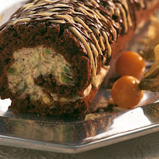 Chocolate Pistachio Yule Log (suitable For Diabetics)