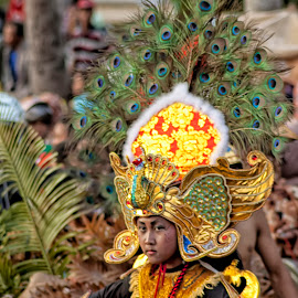 Topeng Ireng dancer in Indonesian Culture Carnival by Septyan Lestariningrum - News & Events Entertainment