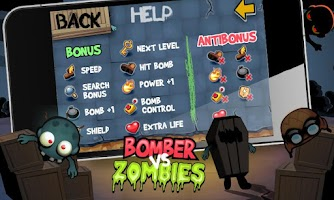 Screenshot of Bomber vs Zombies