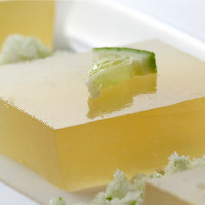 Margarita Lime Jello Cubes (Shots)