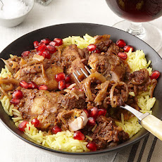 Persian Chicken with Pomegranate and Walnuts