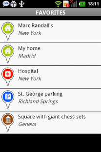 LittleThumb GPS - screenshot