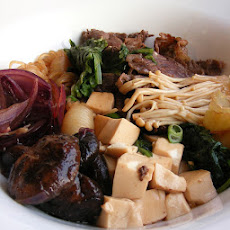 Japanese Beef and Vegetables: Sukiyaki